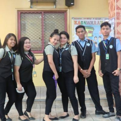 SHS INDUCTION OF CLASS OFFICERS - SY 2019-20