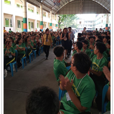 Senior High Schol Rover Scouting Orientation Vigil Ceremonies 2