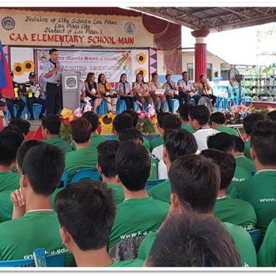 Senior High Schol Rover Scouting Orientation Vigil Ceremonies 3