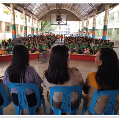 Senior High Schol Rover Scouting Orientation Vigil Ceremonies