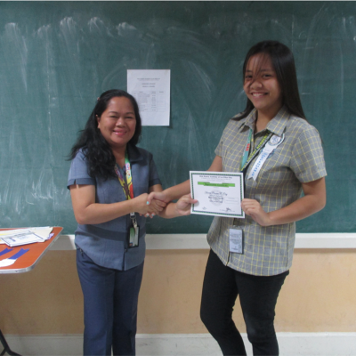 Senior High School Awarding Of Quarterly Recognition 2