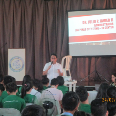 Senior High School Drug Addiction Seminar 2