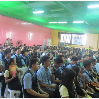 Senior High School Drug Addiction Seminar