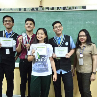 Shs Quarterly Awarding Of Virtue And Honor Certificates
