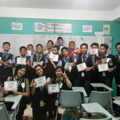 Shs Quarterly Awarding Of Virtue Certificates 2