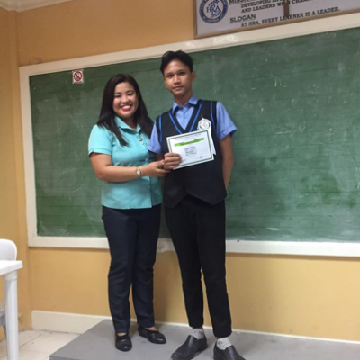 Shs Quarterly Awarding Of Virtue Certificates
