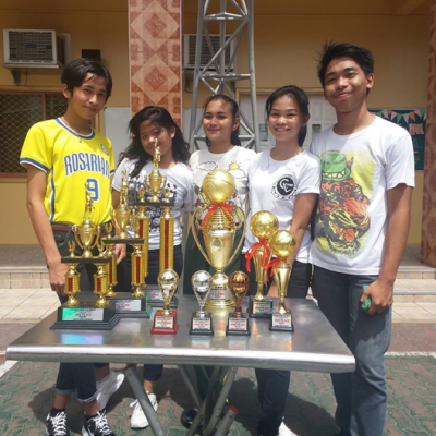 Summer Palaro And Awarding With The Ssg Officers